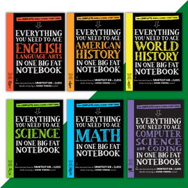 Big Fat Notebook Middle School 6-book set - cover