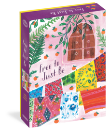 Free to Just Be 1,000-Piece Puzzle - cover