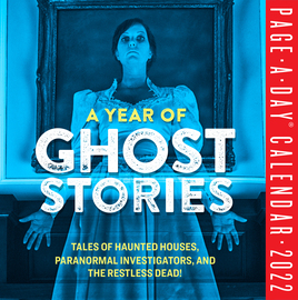 A Year of Ghost Stories Page-A-Day Calendar 2022 - cover