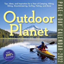 Outdoor Planet Page-A-Day Calendar 2022 - cover