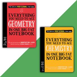 Big Fat Notebook High School Set - cover