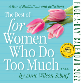 The Best of For Women Who Do Too Much Page-A-Day Calendar 2022 - cover