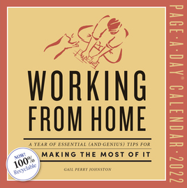 Working from Home Page-A-Day Calendar 2022 - cover