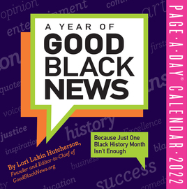A Year of Good Black News Page-A-Day Calendar for 2022 - cover