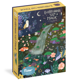 Everything Is Made Out of Magic 1,000-Piece Puzzle (Flow) - cover