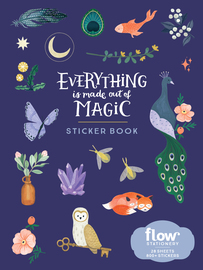 Everything Is Made Out of Magic Sticker Book - cover