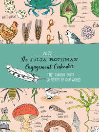 Julia Rothman Farm, Food, Nature Engagement Calendar 2022 - cover