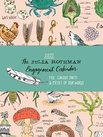 Julia Rothman Farm, Food, Nature Engagement Calendar 2022 - cover