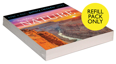 Audubon Nature Page-A-Day Gallery Calendar 2022 Refill Pack - cover