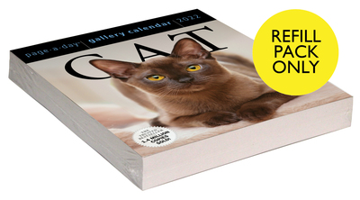 Cat Page-A-Day Gallery Calendar 2022 Refill Pack - cover