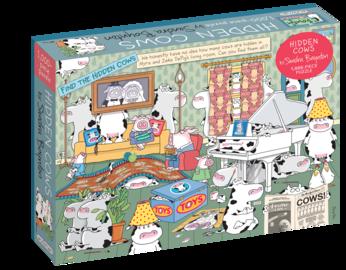 Sandra Boynton: Hidden Cows 1,000-Piece Puzzle - cover