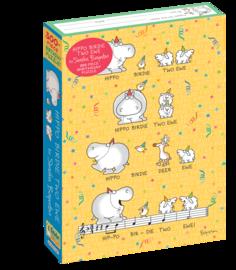 Sandra Boynton: Hippo Birdie Two Ewe 300-Piece Birthday Puzzle - cover