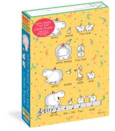 Sandra Boynton: Hippo Birdie Two Ewe 300-Piece Birthday Puzzle - cover