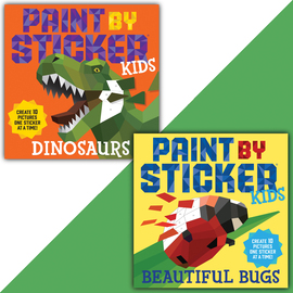 Paint by Sticker Kids Set: Cool Creatures - cover