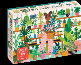 Crazy Plant Lady 1,000-Piece Puzzle - cover