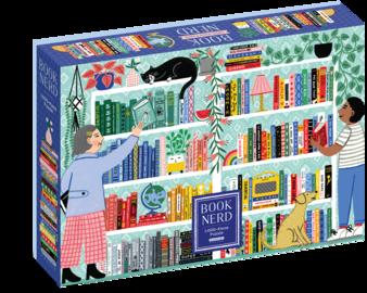 Book Nerd 1,000-Piece Puzzle - cover
