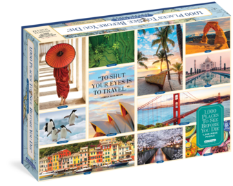 1,000 Places to See Before You Die 1,000-Piece Puzzle - cover