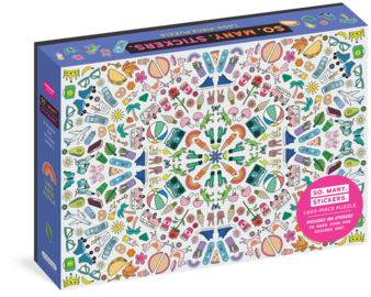 So. Many. Stickers. 1,000-Piece Puzzle - cover