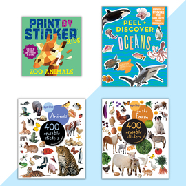 A Bundle of Sticker Fun! - cover