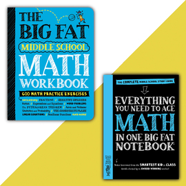 Big Fat Notebook Middle School Math Set - cover