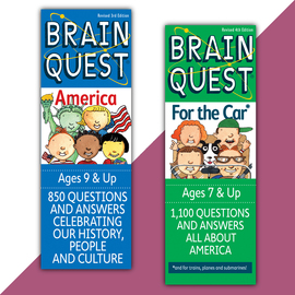 Brain Quest on the Road Set - cover
