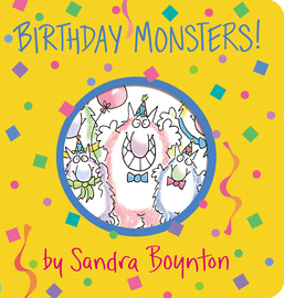 Birthday Monsters! - cover