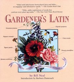 Gardener's Latin - cover