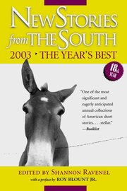 New Stories from the South 2003 - cover