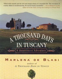 A Thousand Days in Tuscany - cover