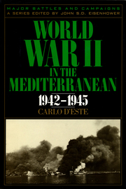 World War II in the Mediterranean, 1942-1945 - cover