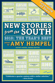 New Stories from the South 2010 - cover