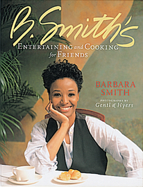 B. Smith's Entertaining and Cooking for Friends - cover