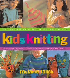 Kids Knitting - cover
