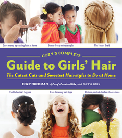 Cozy's Complete Guide to Girls' Hair - cover