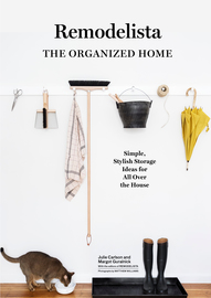 Remodelista: The Organized Home - cover