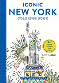 Iconic New York Coloring Book - cover
