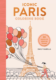 Iconic Paris Coloring Book - cover