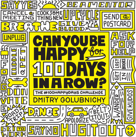 Can You Be Happy for 100 Days in a Row? - cover
