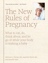 The New Rules of Pregnancy - cover