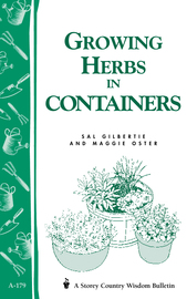 Growing Herbs in Containers - cover