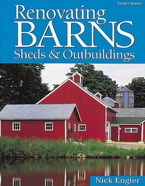 Renovating Barns, Sheds & Outbuildings - cover