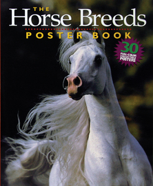 The Horse Breeds Poster Book - cover