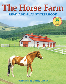 The Horse Farm Read-and-Play Sticker Book - cover