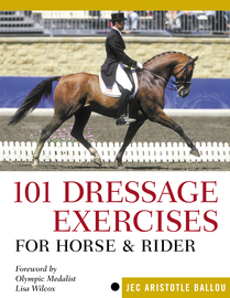 101 Dressage Exercises for Horse & Rider - cover