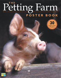 The Petting Farm Poster Book - cover