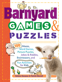Barnyard Games & Puzzles - cover