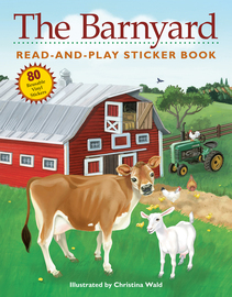The Barnyard Read-and-Play Sticker Book - cover