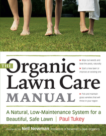 The Organic Lawn Care Manual - cover
