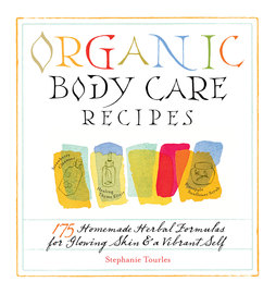 Organic Body Care Recipes - cover