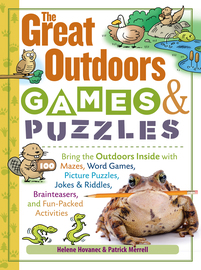 The Great Outdoors Games & Puzzles - cover